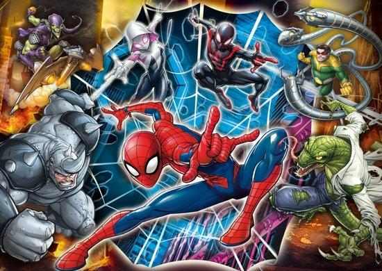 CLEMENTONI Puzzle Spiderman: Připraveni k boji MAXI 104 dílků
