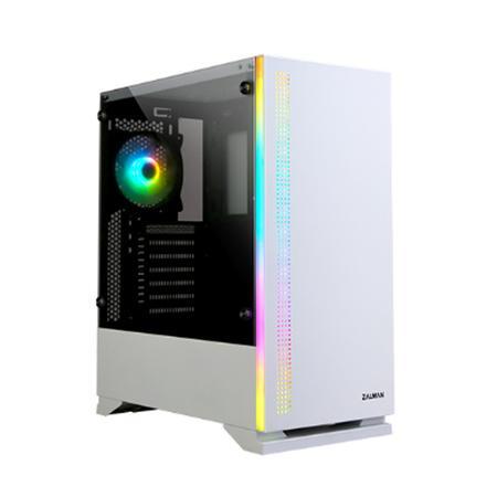 Zalman S5 White ATX Mid Tower PC Case
