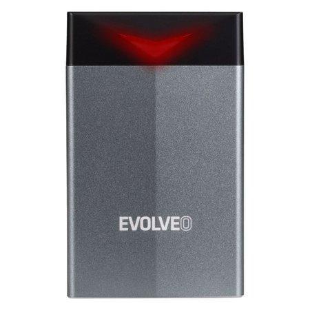 """EVOLVEO 2.5"""" Tiny G2, 10Gb/s, externí rámeček na HDD, USB A 3.1 + redukce USB A/USB C, TINYG2"""