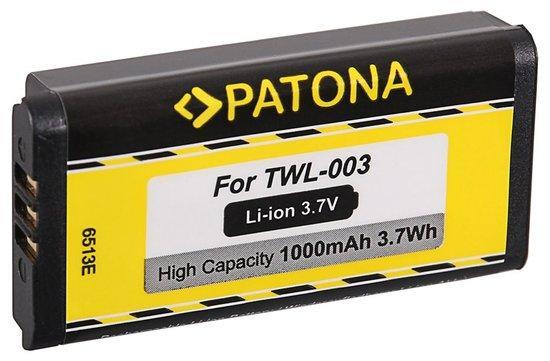 PATONA baterie pro herní konzoli Nintendo DSi/NDSi 1000mAh Li-lon 3,7V TWL-003