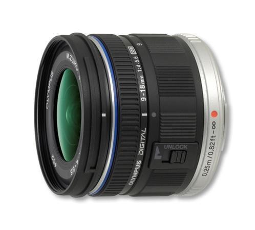 Objektiv Olympus M.ZUIKO DIGITAL ED 9-18 mm (W) 1:4.0-5.6 black