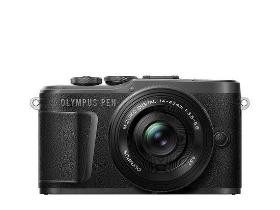 Digitální fotoaparát Olympus E-PL10 1442 Pancake Zoom Kit blk/blk