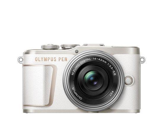 Digitální fotoaparát Olympus E-PL10 1442 Pancake Zoom Kit wht/slv