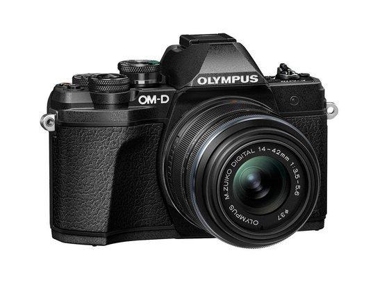 Digitální fotoaparát Olympus E-M10 III S 1442IIR Kit blk/blk