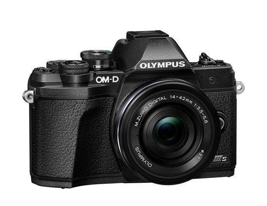 Digitální fotoaparát Olympus E-M10 III S 1442 EZ Pancake Kit blk/blk