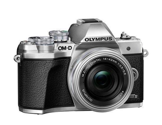 Digitální fotoaparát Olympus E-M10 III S 1442 EZ Pancake Kit slv/slv