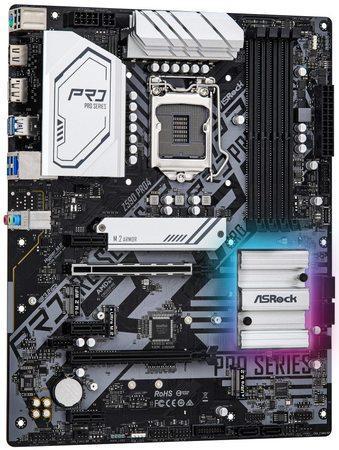 ASROCK Z590 PRO4 (intel 1200, 4xDDR4 4800MHz, 6xSATA3, 3x M.2, HDMI+DPort, 1xGLAN, ATX), Z590 PRO4