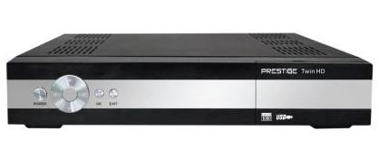 PRESTIGE DVB-S2 přijímač CI LAN PVR