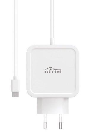 Media-Tech MT6273 65W USB-C napájecí zdroj, MT6273