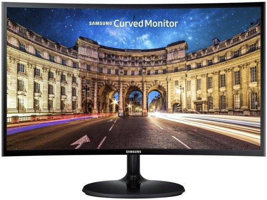 """Samsung C24F390 24""""/ 1920x1080/ VA/ 4ms/ 250 cd/ m2/ HDMI/ Prohnutý/ Černý, LC24F390FHRXEN"""