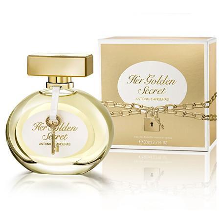 Antonio Banderas Her Golden Secret - EDT 80 ml