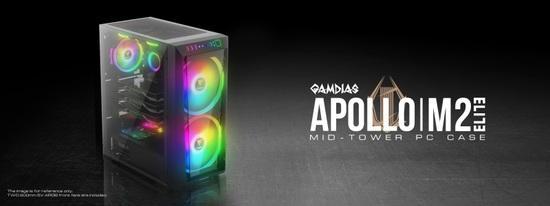 Gamdias RGB PC skříň APOLLO M2 ELITE
