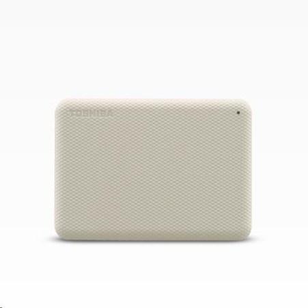 "TOSHIBA HDD CANVIO ADVANCE (NEW) 2TB, 2,5"", USB 3.2 Gen 1, bílá / white, HDTCA20EW3AA"