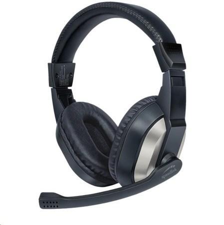 SPEED LINK sluchátka SL-870020-BK THEBE Stereo Headset, černá