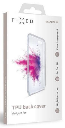 Pouzdro FIXED TPU gelové Samsung Galaxy M12, čiré