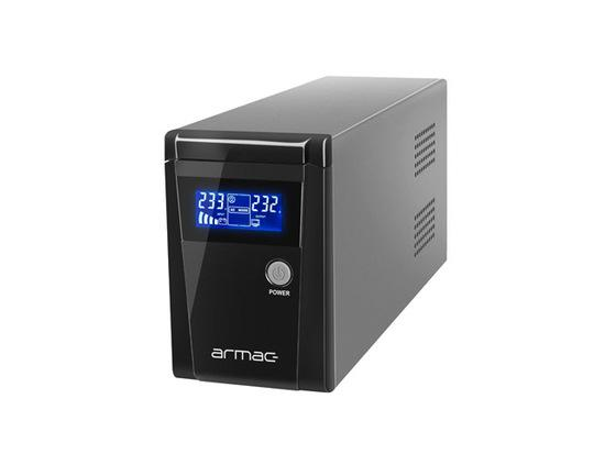 ARMAC UPS OFFICE 650E LCD 2 FRENCH OUTLETS 230V METAL CASE