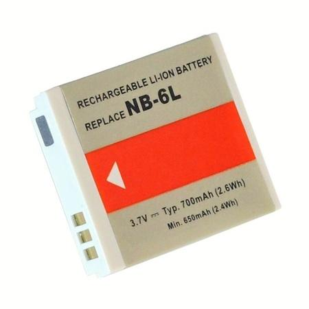 Doerr Akumulátor DDP-CNB6L (D86, CANON NB-6L - 3,7 V/700 mAh pro Ixus 85 IS)