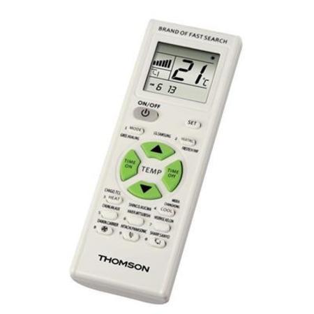Thomson univerzální dálkový ovladač pro klimatizace; 131838
