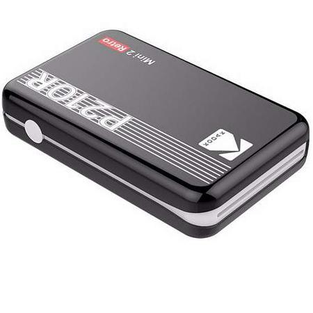 Kodak Printer Mini 2 Plus Retro Black, P210RB