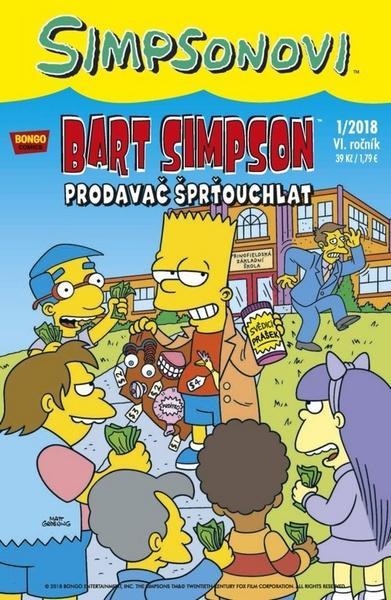 Bart Simpson Prodavač šprťouchlat