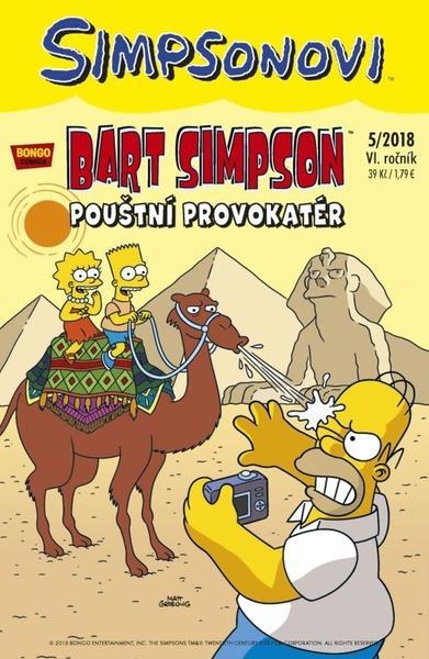 Bart Simpson Pouštní provokatér